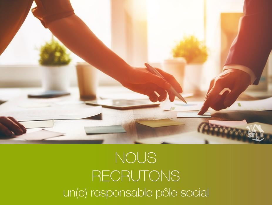 recrutement-responsable-pole-siocial